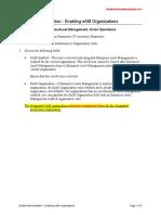 EAM2. Demo - Enabling EAM Organizations