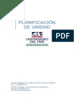 PLANI de UNIDAD Lenguaje y Comunicacion