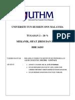 BBR 16203 Mekanik, Sifat Jirim, Haba
