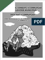 Cartilha de Combate a Corrupcao Eleicoes Municipais