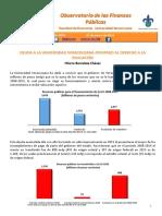 Boletín-0059 (DEUDA A LA UNIVERSIDAD VERACRUZANA ATENTADO AL DERECHO A LA EDUCACIÓN Hilario Barcelata Chávez