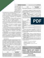 Disposiciones para la constitución de servidumbre sobre terrenos eriazos de propiedad estatal para proyectos de inversión