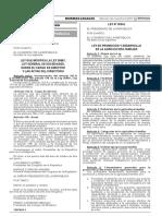 Ley Nº 30354 - Modifican Ley de Sociedades