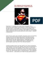 A filiação religiosa do personagem de quadrinhos SUPERMAN