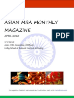 Asian MBA Monthly Magazine-April Edition