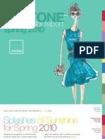 Pantone Fashion Color Report Spring 2010