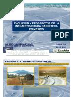 Evolución de la infraestructura carretera