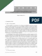 Introducción a la metodología metaanalítica