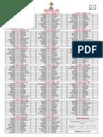 Calendario Liga Aguila 2016-I