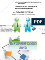 Informe Coso 2013