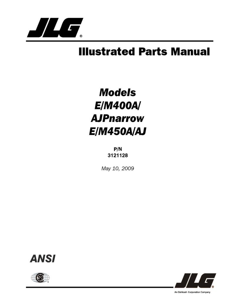 e450aj parts 3121128 5 10 09 ansi english rh scribd com JLG 2632E2 Wiring -Diagram 1993 GMC Wiring Schematic for Lights
