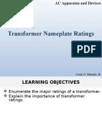 Transformer Nameplate Ratings-V1
