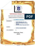 Monografia Union Europea