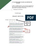 Como Encontrar Cualquier Libro Usando Algoritmos de Google