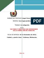 Factores y Procesos Que Intervienen en La Formación Del Derecho.