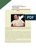 Aportes de La Iglesia Al Desarrollo Humano Integral