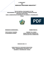 Report on Telecom Service Provider
