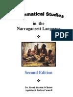 Grammatical Studies in Narragansett Language 2ed