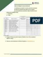 Procedimiento de Registro Lista de Asistencia y Calificacion B15