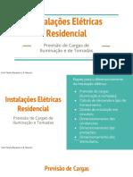 Instalações Elétricas Residencial - IEP - Para .PDF
