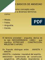 Clses de Psicopatologia La Ansiedad y Tras Tronos Psicoticos.