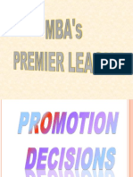 A- Promotion Mgt