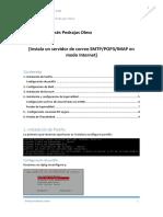 Tutorial de configuración de un servidor de correo en Debian 8 con Postfix, Dovecot y Squirrelmail.
