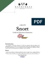Memoire Sur Snort