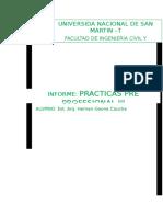 INFORME FIANAL practicas preprofesionales