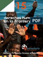 informe frontera sur 2015