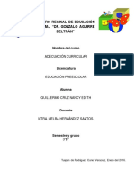 Informe General de Practica Escolar