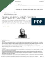 Gara - Federico Krutwig Sigue Provocando a La Reflexión