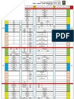 B.arch.Time Table Even Updated 09-01-2016