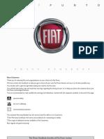 Fiat Grande Punto Owners Handbook