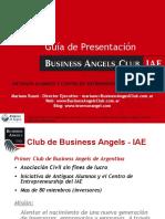 Guia de Presentacion ante Angeles Inversionistas - Muy BUENNNAAAA
