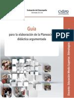 Guía de Planeación Didáctica para Etimologías Grecolatinas