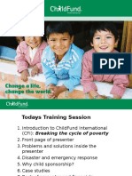 wip childfund client training v3  20160107