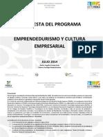 Programa Emprendedurismo