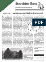 1. Greifswalder Bote 2007