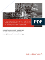 BAIN BRIEF Capital Productivity for OG in a Low Price Envirnoment