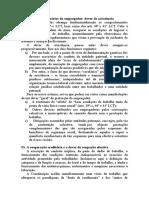 Direito Do Trabalho Micael