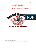 Combat Grappler - Gladiator Training Manual