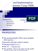 PRBS Generator Using VHDL Final