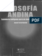 Estermann Josef - Filosofia Andina