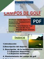 Trabajo Campos de Golf 08-09