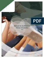 Manual de Acolhimento Dos Novos Estudantes 2015 2016