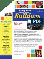 January/February 2016 Newsletter