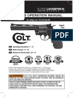 Manual Colt Python CO2 Metal