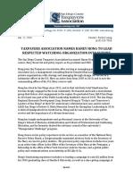 SDCTA Names President & CEO