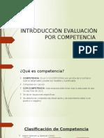 Evaluación de Desempeño Por Competencia